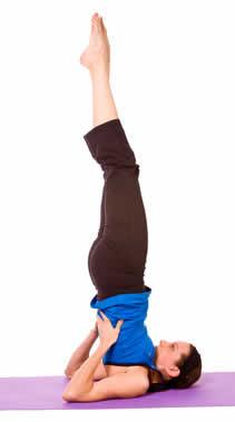 Die Schulterstand Übung