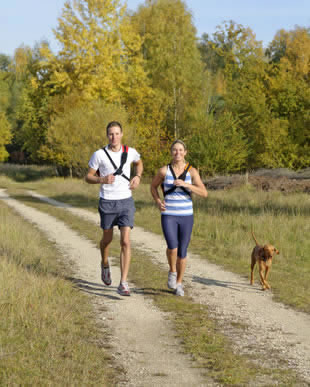 Entspannung beim Sport durch körperliche Beanspruchung