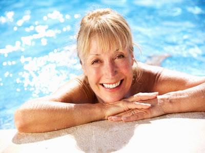 Schwimmen ist ein idealer Ausgleich zum Alltag und gut für die Gesundheit.