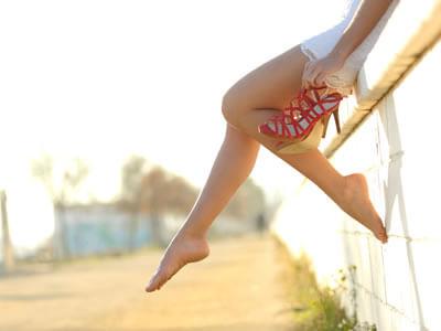 Füße werden stark beansprucht und brauchen deshalb viel Pflege.